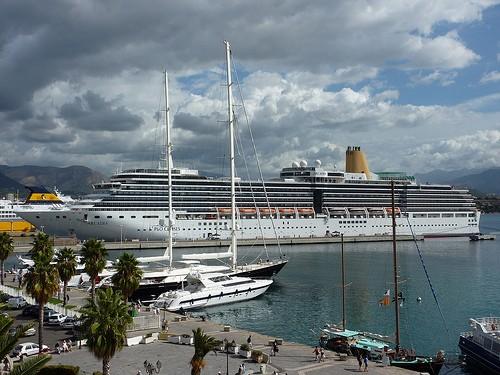Le bateau Arcadia en Corse