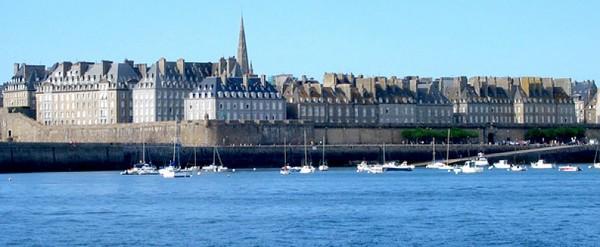 La ville de Saint Malo