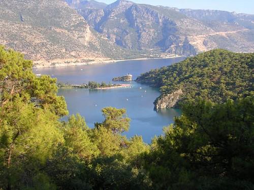 La mer mediterranee en Turquie