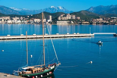 Voilier en Corse à Ajaccio