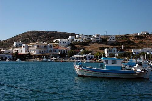 Bateaux à Dodecanese en Grèce
