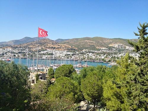 Ville Bodrum en Turquie