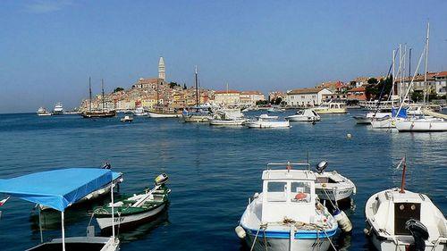 Voilier région Istrie en Croatie