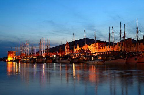 La ville de Trogir en Croatie