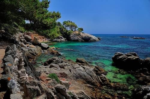 Costa brava en Espagne