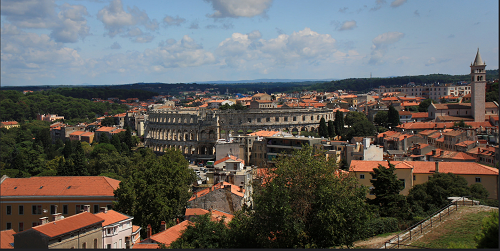 Ville de Pula Croatie
